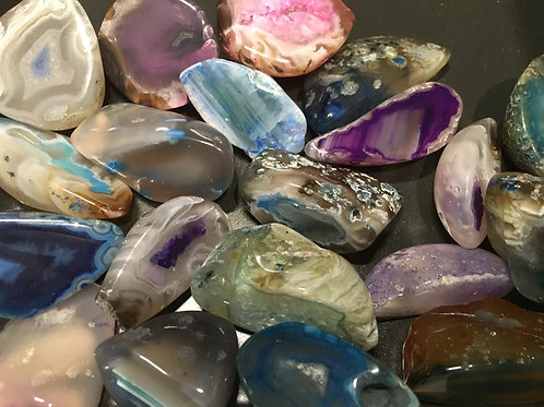 Agate assorted extra small ends