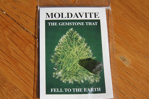 Moldavite (rare and limited crystal)