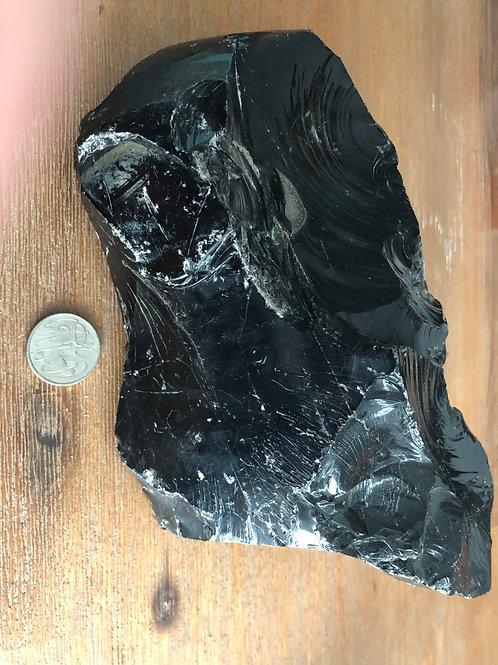 3.3kg Black Obsidian natural specimen piece