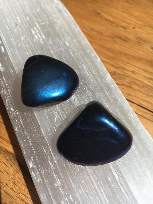 Aura Cobalt Polished Tumble Stones