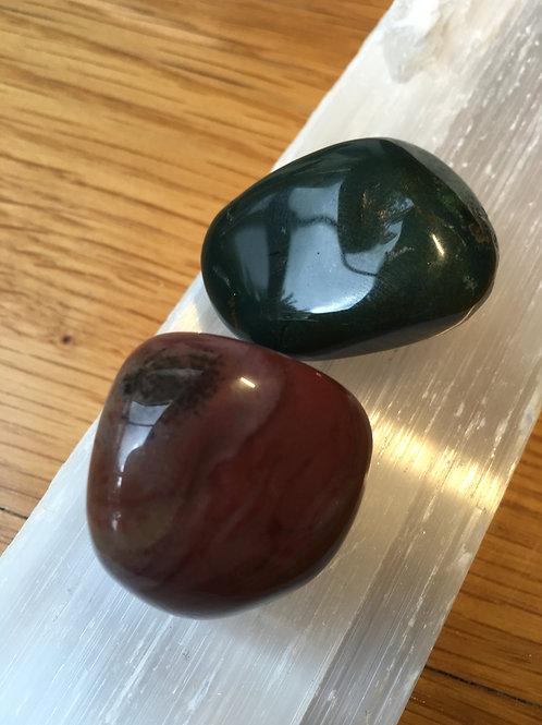 Bloodstone Tumble Stones