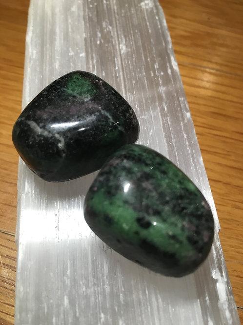 Rubyzoisite Tumble stones