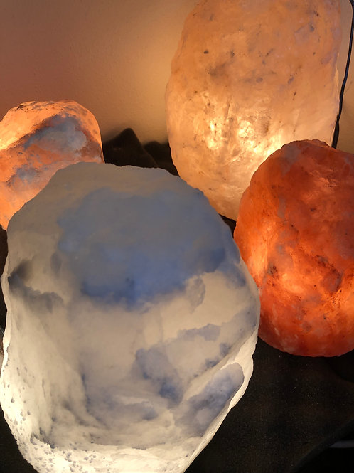 Himalayan Salt Lamp small 3-4kg White
