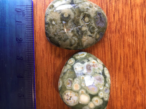 Rhyolite (Rainforest Jasper) Tumble stones Large