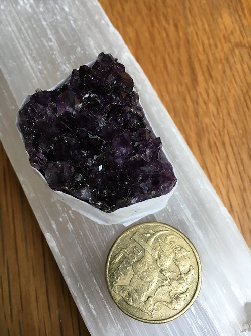 Amethyst Small Raw Cluster $10 version