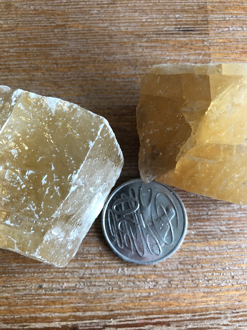 Calcite natural piece
