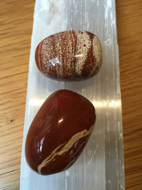 Jasper Red Polished Tumble Stones