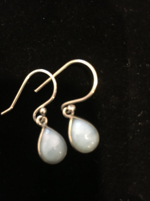 Larimer Teardrop Sterling Silver Ear-rings
