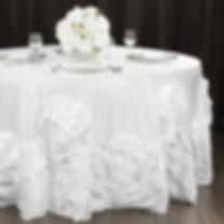 Large Rosette tablecloth   Unforgettable Events