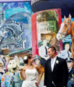 Bride and Groom Looking At Each Other | Unforgettable Events