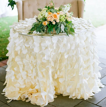 Petal Tablecloth | Unforgettable Events