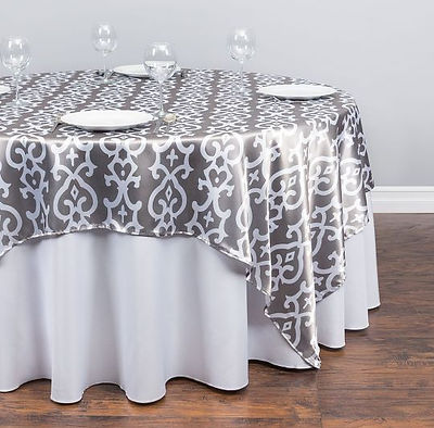 Imperial Satin Overlay Rental | Unforgettable Events