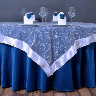 Embroidery Overlay Rental | Unforgettable Events