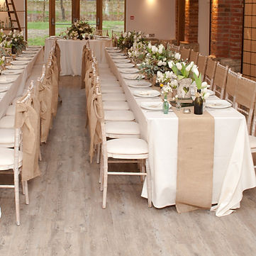 Burlap Table Runner Rental | Unforgettable Events