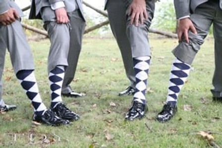 Groom socks | Unforgettable Events