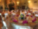 Decorated Wedding Reception   Unforgettable Events