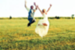 Bride and Groom Jumping | Unforgettable Events