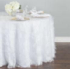 Vintage fringe tablecloth   Unforgettable Events