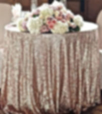 Sequin Tablecloth   Unforgettable Events