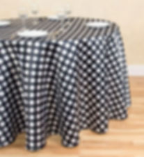 Polka Dot Satin tablecloth   Unforgettable Events