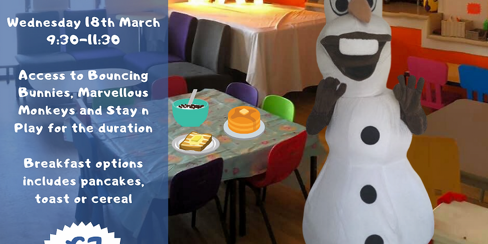 Breakfast with... Olaf