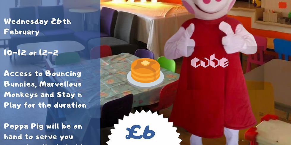More Pancakes with Peppa (Wed 26th 10am-12pm)