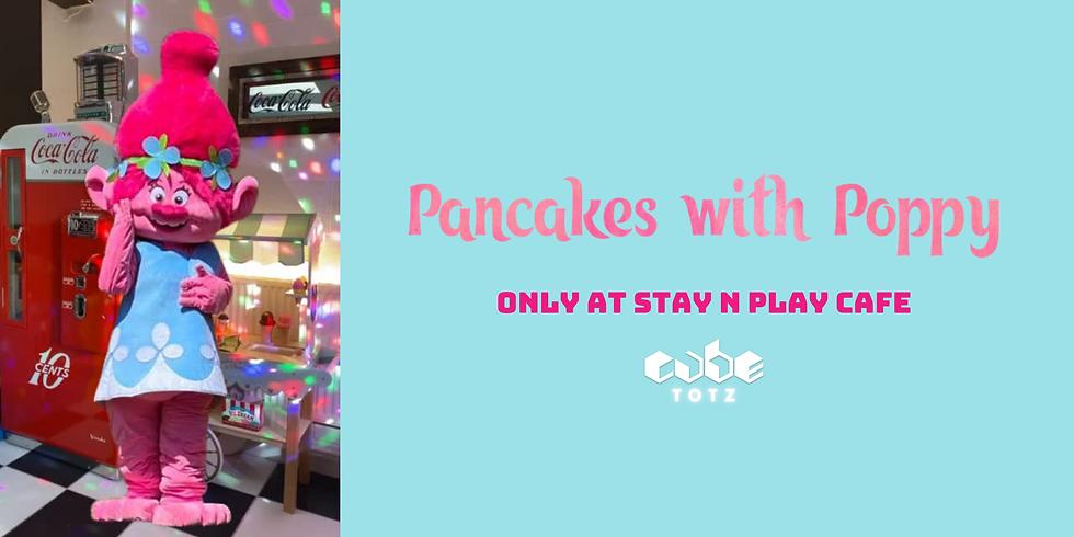 Pancakes with Poppy