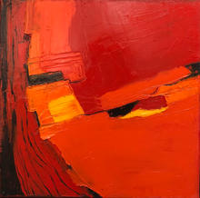 Abstract in Red