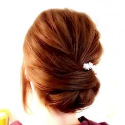 festliche Frisur