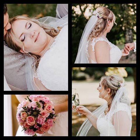 Eine ganz liebe Braut, stellt mir diese