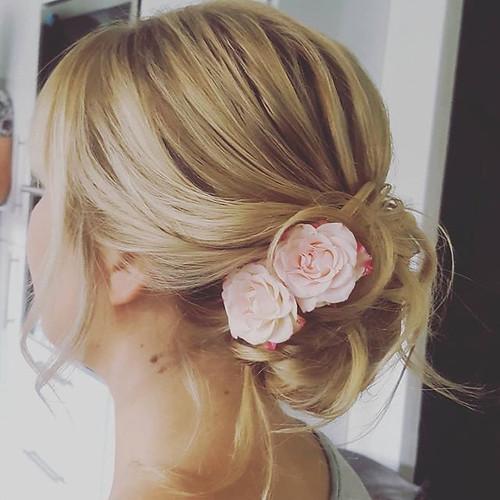 #brautjungfer #hairstyling #hochsteckfri