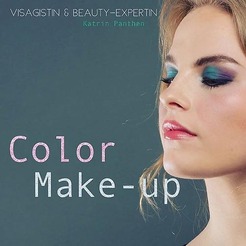 Color Make-up _ Lidschatten in kräftigen