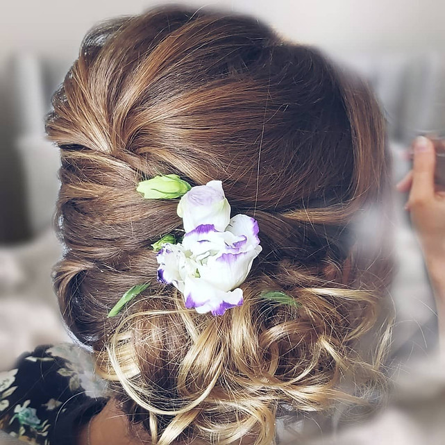 Sommerliche Frisur