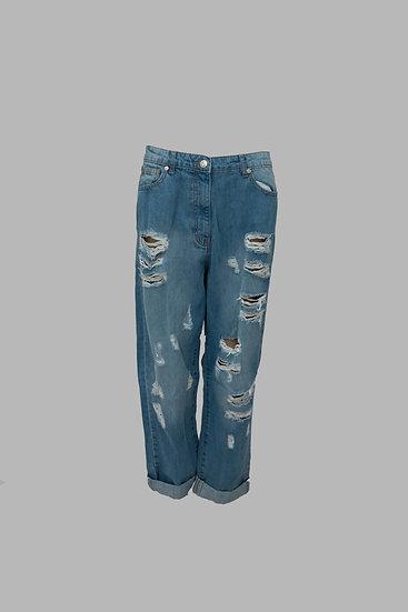 Boyfriend Distress Jeans
