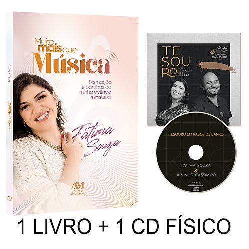 KIT Livro MMQM + CD TVB