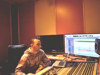 """Início da mixagem do cd """"Ele me compôs"""" Fátima Souza"""
