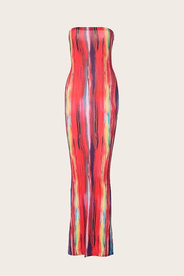 Portrait Bodycon Dress