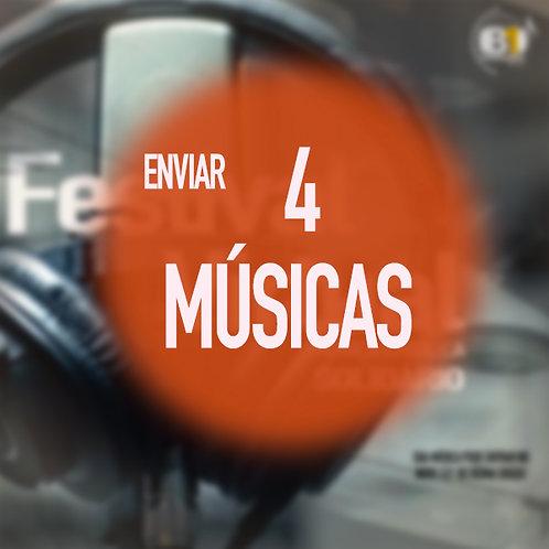 ENVIAR 4 MÚSICAS