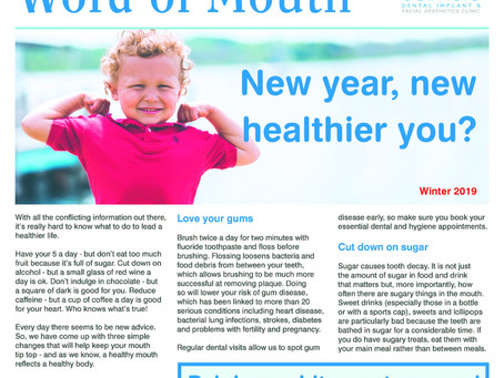 Word of Mouth Newsletter Winter 2019