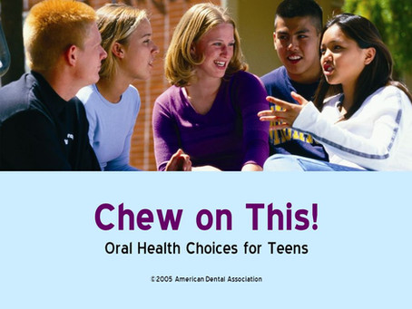 Teenagers Neglecting Basic Oral Hygiene