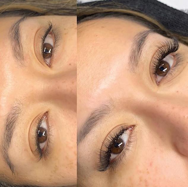 Mixed full set on these gorgeous eyes!!!