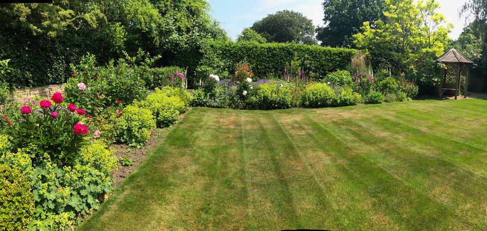 Traditional garden ...