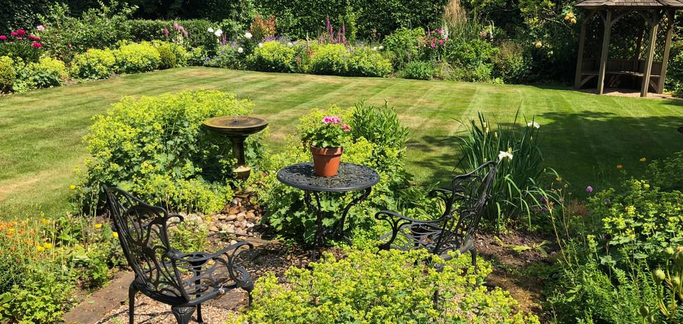 Beautiful English Garden.