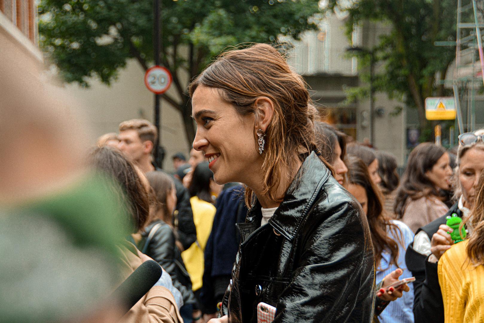 Alexa at Fashion Week