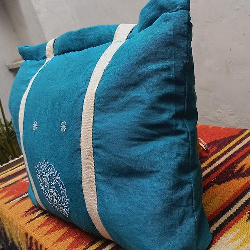 Mushti Chikankari Tote Bag