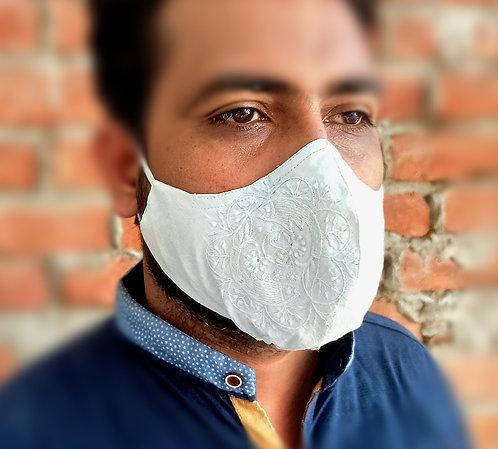 Maratim- Chikan 4 Multiple Textile Layer Face Mask Set of 2