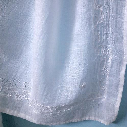 Fehrat Handcrafted chikan zardosi handwoven cotton Stole