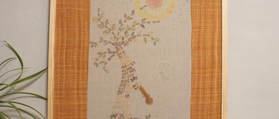 Embroidery & Paint | Jaspal Kalra | AnhathaBani | Limited Edition