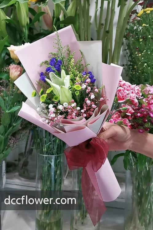 1 lily bouquet
