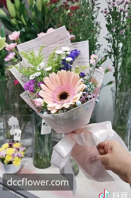1 gerbera bouquet